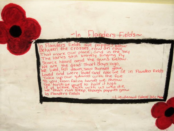 In Flanders Fields poem